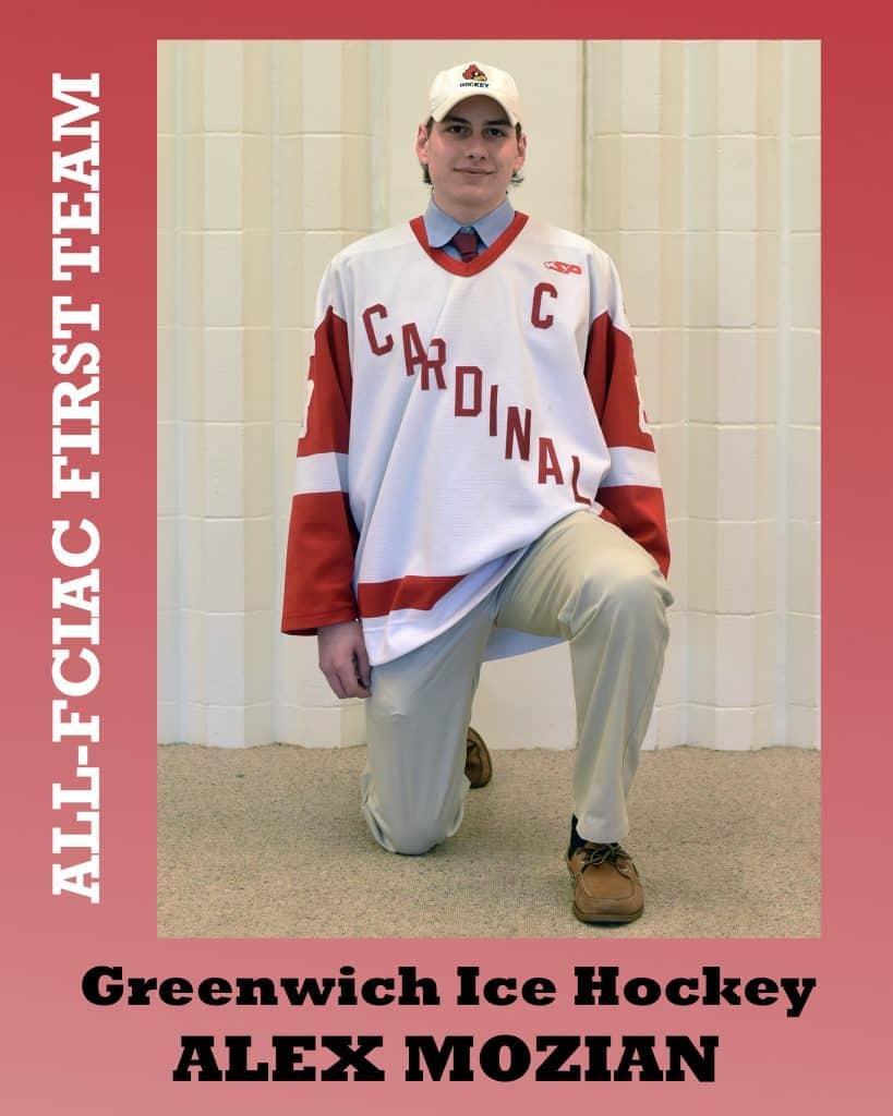 All-FCIAC Boys Hockey Greenwich Mozian