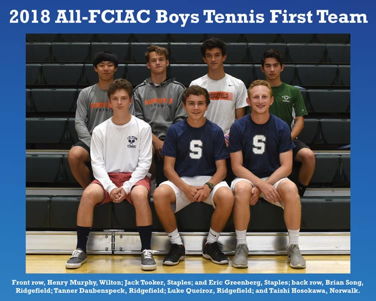 All-FCIAC-Boys-Tennis-Team