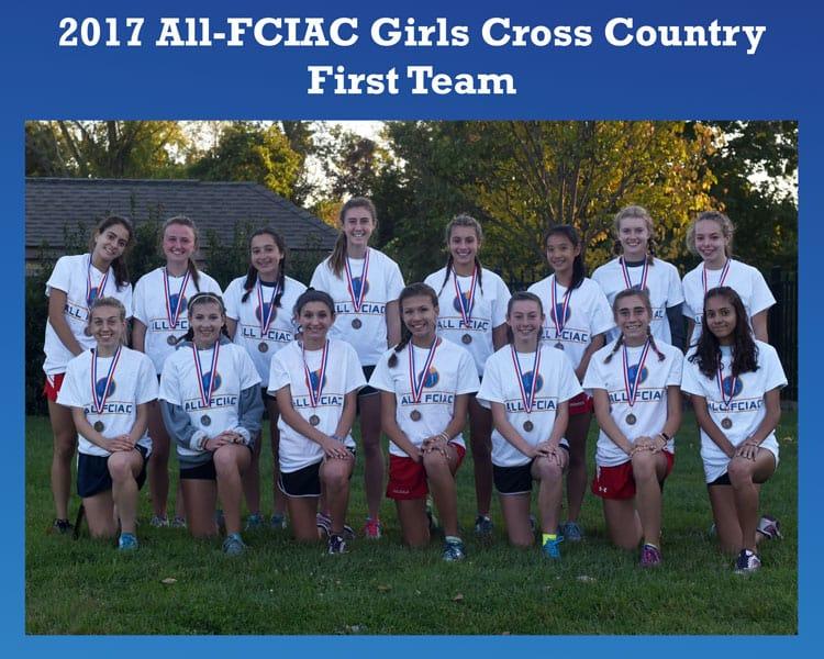 All-FCIAC-Girls-Cross-Country-Team