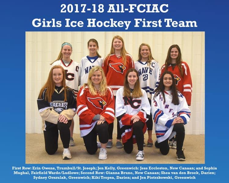 All-FCIAC-Girls-Ice-Hockey-Team