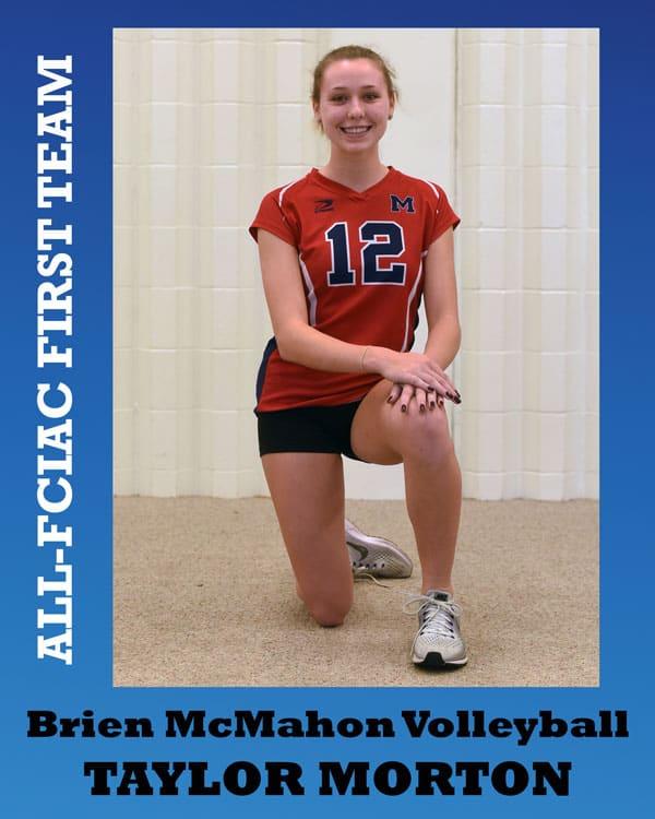 All-FCIAC-Volleyball-McMahon-Morton