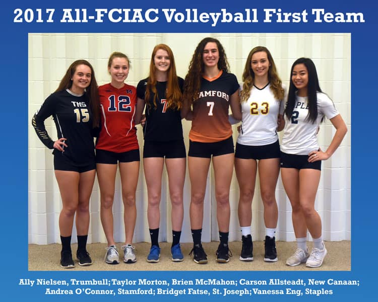 All-FCIAC-Volleyball-Team
