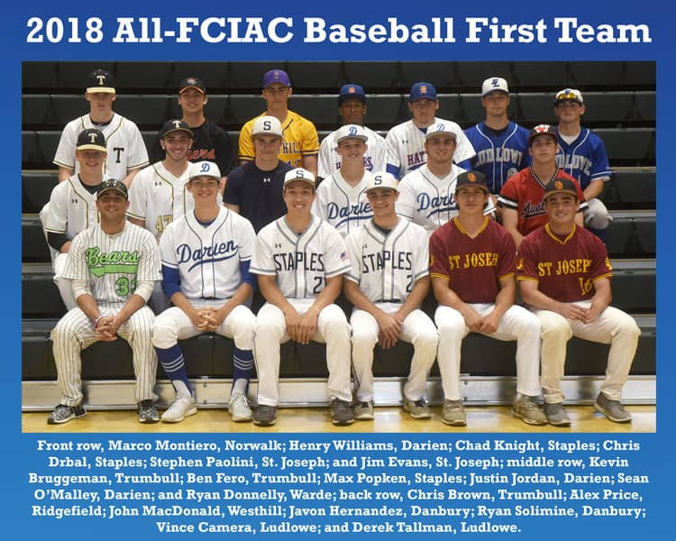 All-FCIAC-Baseball-Team