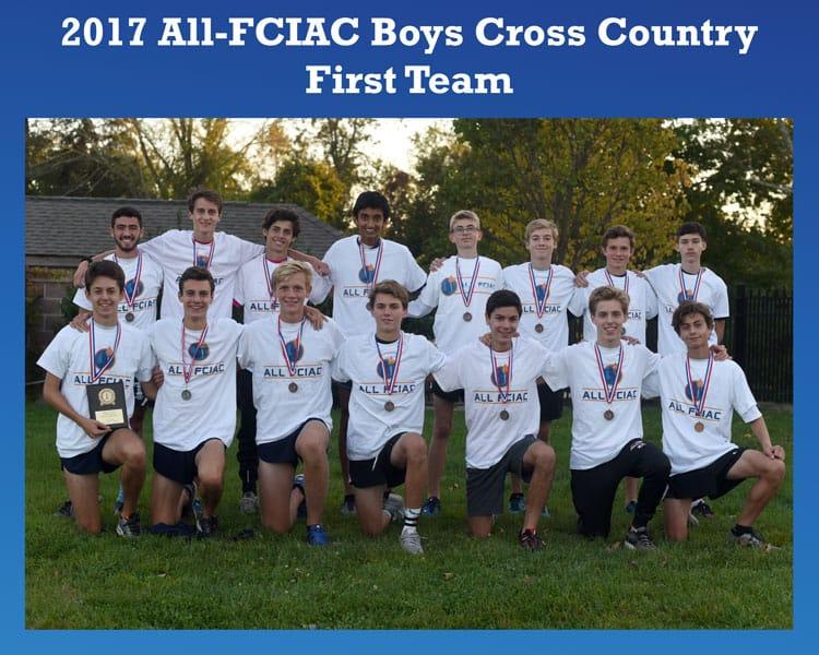 All-FCIAC-Boys-Cross-Country-Team