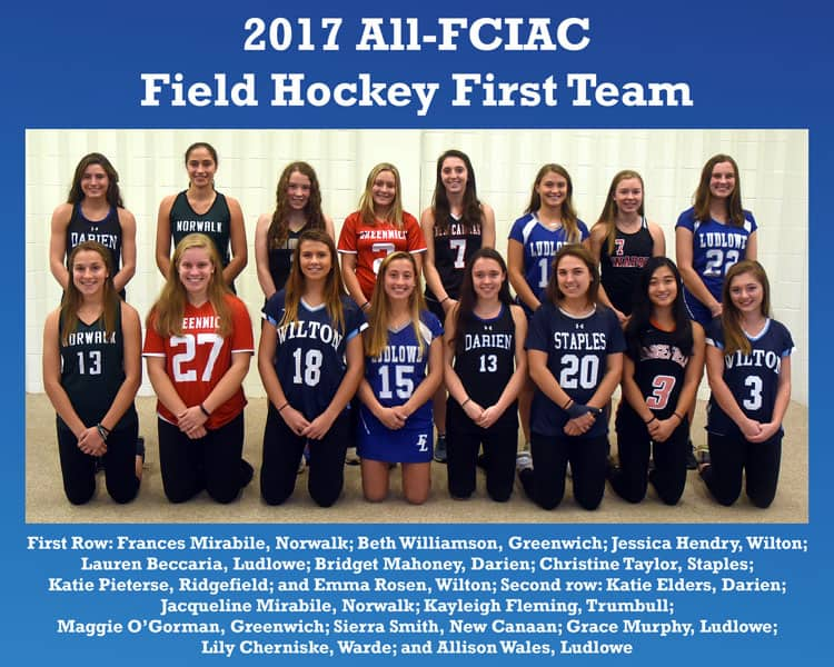 All-FCIAC-Field-Hockey-Team