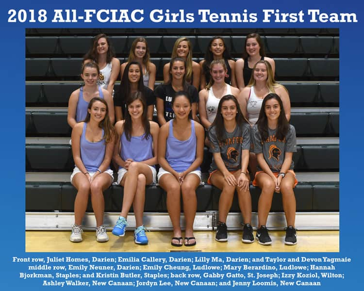 All-FCIAC-Girls-Tennis-Team