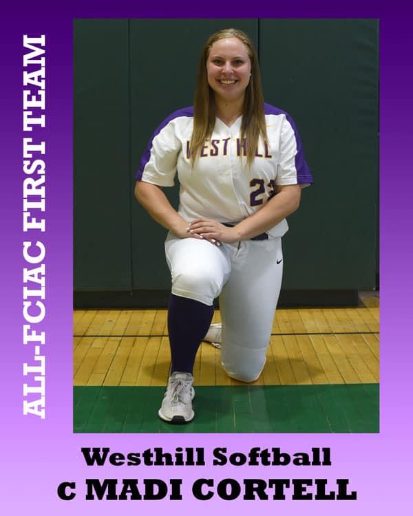 All-FCIAC-Softball-Westhill-Cortell