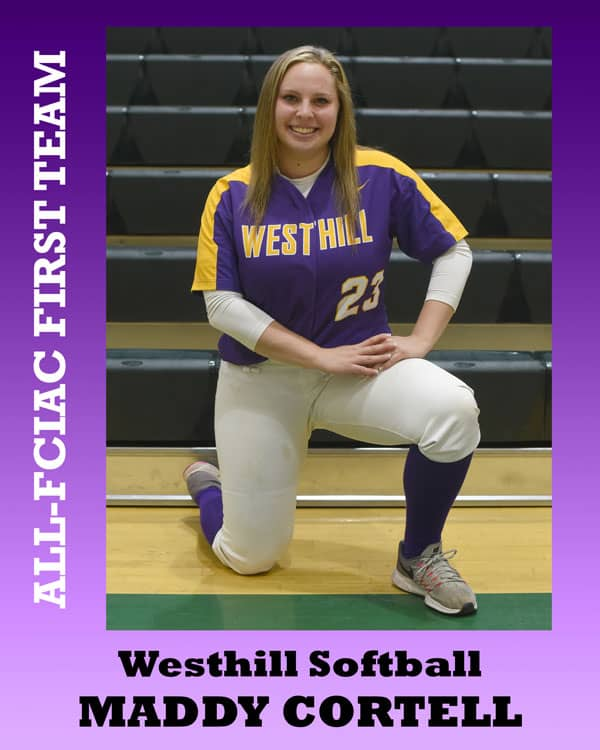 All-FCIAC-Softball-Westhill-Cortell