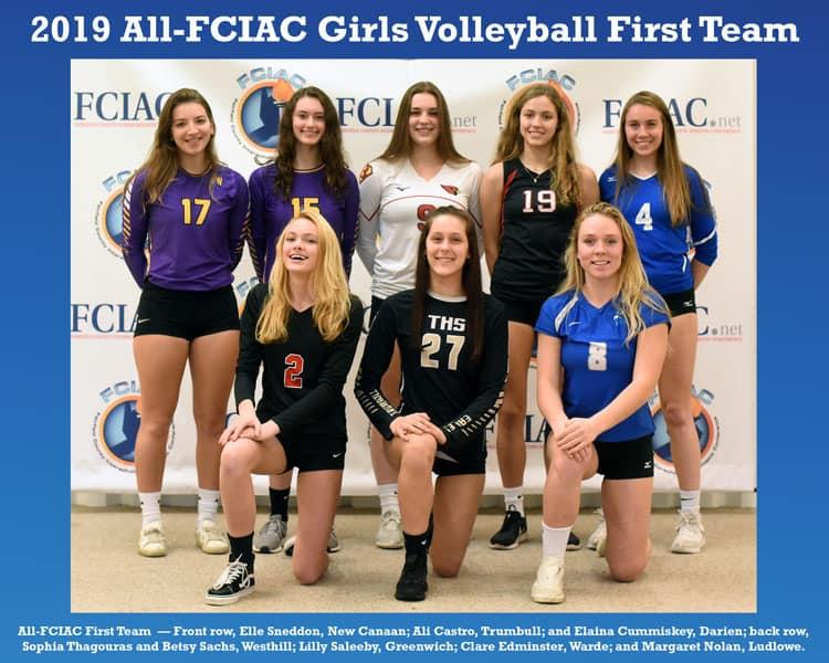 All-FCIAC-2019-Girls-Volleyball-Team