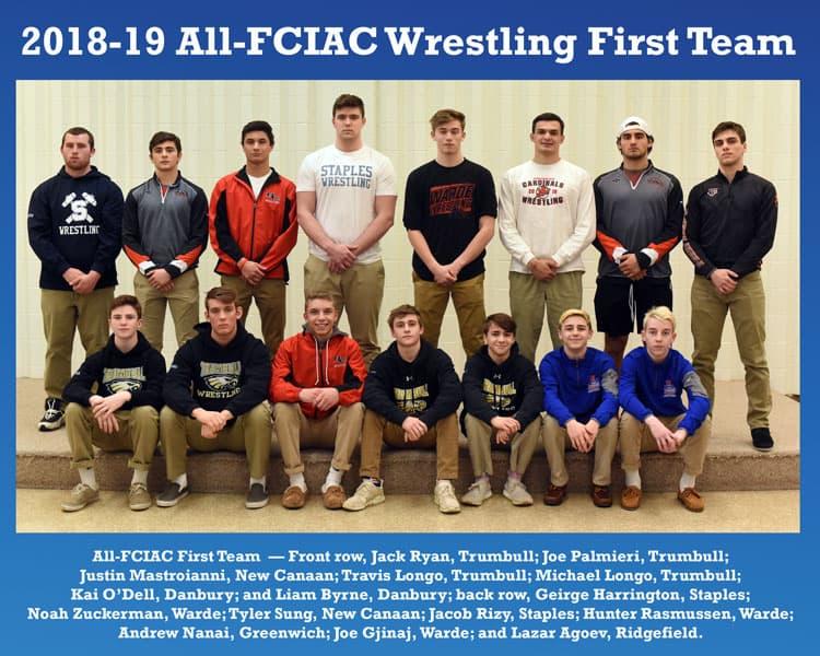 All-FCIAC-2018-19-Wrestling-Team