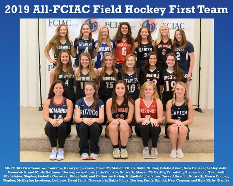 All-FCIAC-2019-Field-Hockey-Team